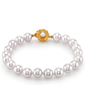 7.0-7.5mm Akoya White Pearl Bracelet- Choose Your Quality - Third Image